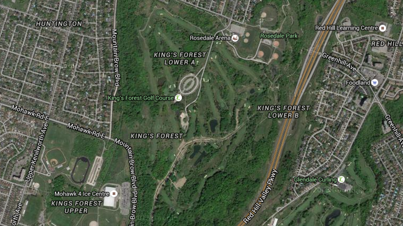 King's Forest Golf Course (Image Credit: Google Maps)