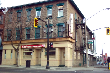 King and Bay, new coffee house