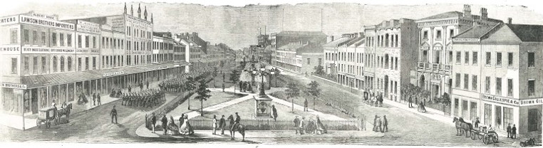 Gore Park in history