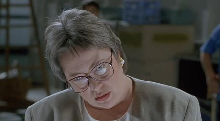 No matter who she's playing, you never want to piss off Kathy Bates. It's just a rule.