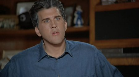 Before he was blown up on Lost, Roebuck did a decent Leno, even behind awkward makeup.