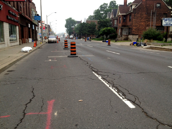 King East between Steven and Ashley (Image Credit: Laura Farr)