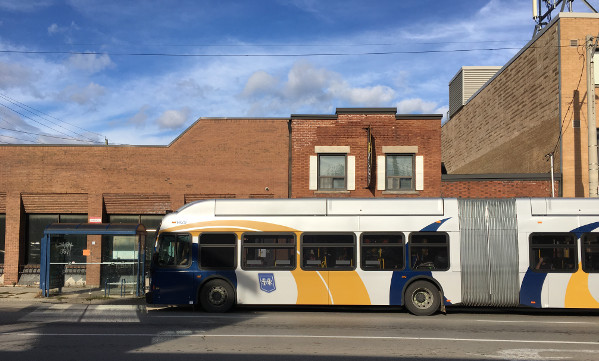 Articulated HSR bus (RTH file photo)
