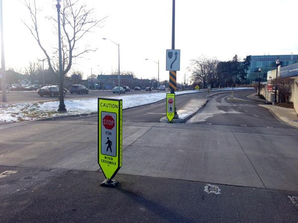 "... to Trails"" Pedestrian Bridge :: Photo Essay :: University of Rochester"