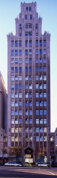 Fig. 1. Pigott Building, Hamilton, Ontario. Architects: Prack and Prack (1929).