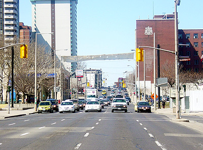 Main Street is an expressway in all but name (RTH file photo)