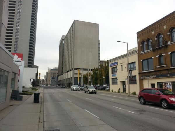 Sparse traffic on Main Street (RTH file photo)