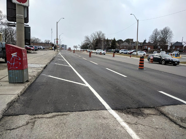 Main Street West repaved near Macklin Street (RTH file photo)