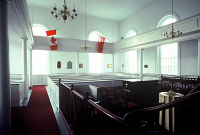 Fig. 9. Niagara-on-the-Lake, St Andrew's Presbyterian Church, interior.
