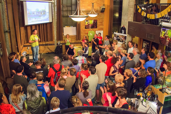 Mustard Seed location announcement at The Staircase (Image Credit: Jeff Tessier)