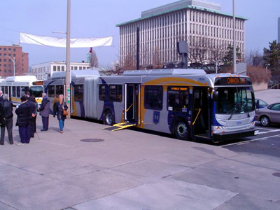 New HSR Articulated Hybrid Bus