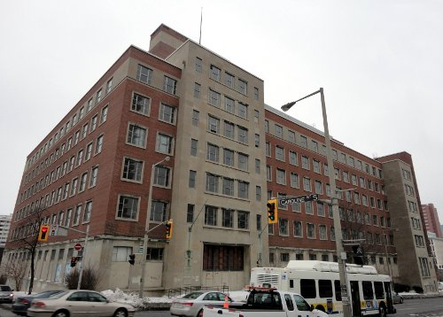 old Revenue Canada building at Main and Caroline