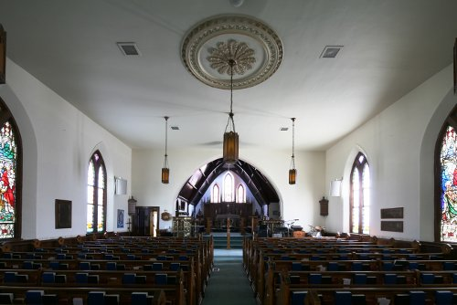 Fig. 5. Paris, St James's Anglican Church, interior to E.