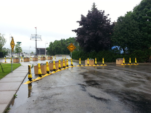 Permeable traffic filter, Guise and Hughson (Image Credit: Ryan McGreal)