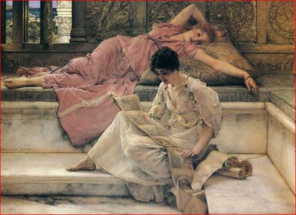 Slain & Seduced: 'The Favourite Poet' by Sir Lawrence Alma-Tadema