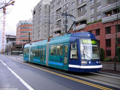 Portland's Streetcar lines have attracted new investment (Image Credit: Busdude.com)