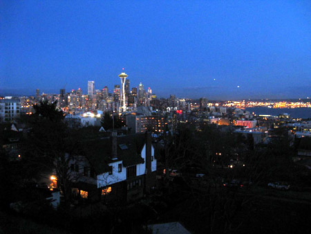 The Emerald City from Kerry Park.