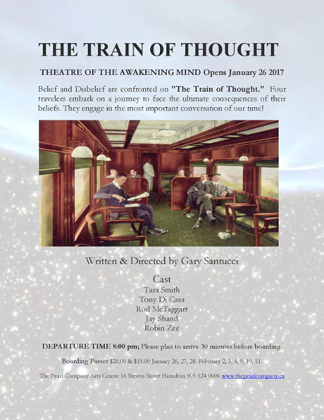 Poster: The Train of Thought