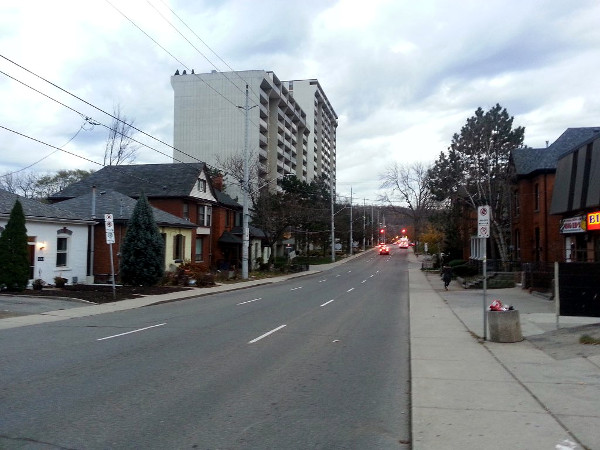 Queen Street South, 4:44 PM