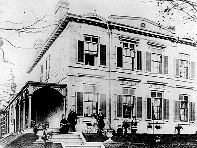 Fig. 14: Griffin House [Hamilton Public Library, Special Collections]
