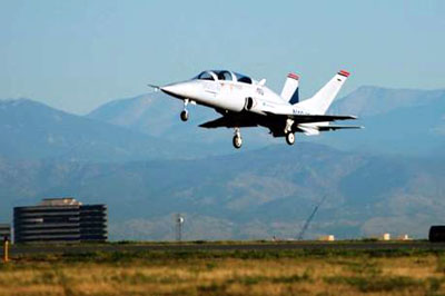 Javelin. First flight takeoff, September 30, 2005