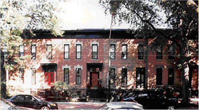 Row houses in Chicago (Photo Credit: Chicago Landmarks)