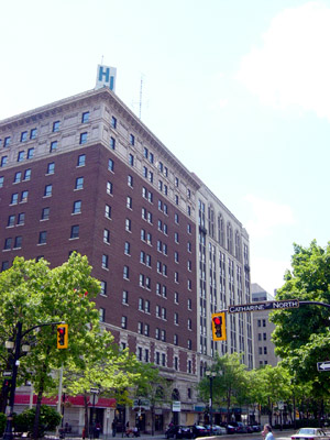 Royal Connaught Hotel, 112 King St. E. Is there anything historic about these bricks?