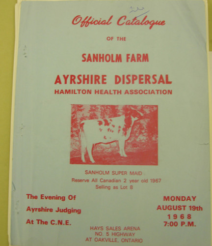 Sanholme Farm supplied milk, chickens and pigs to the San