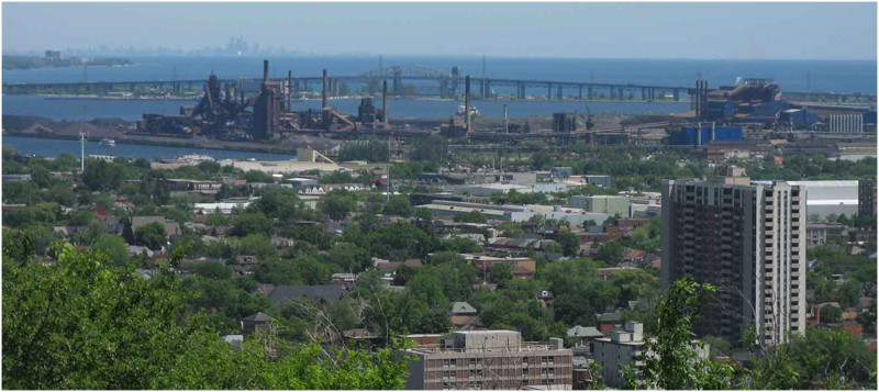 Toronto, with its regional industrial district in the foreground. Image: torontotransforms. com. This is the companion website for Relph's book and contains much supplementary material, including essays added since the book was published.