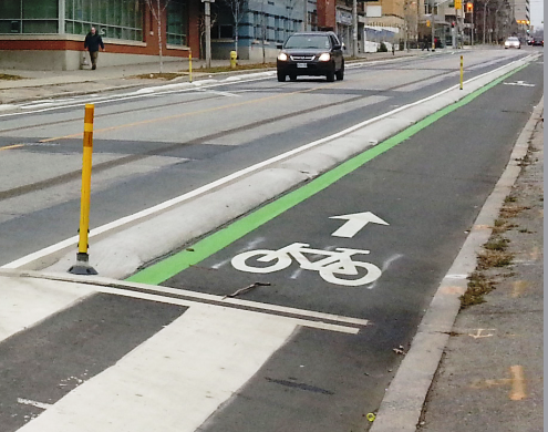 Sherbourne Cycle Track (Image Credit: Blogger)