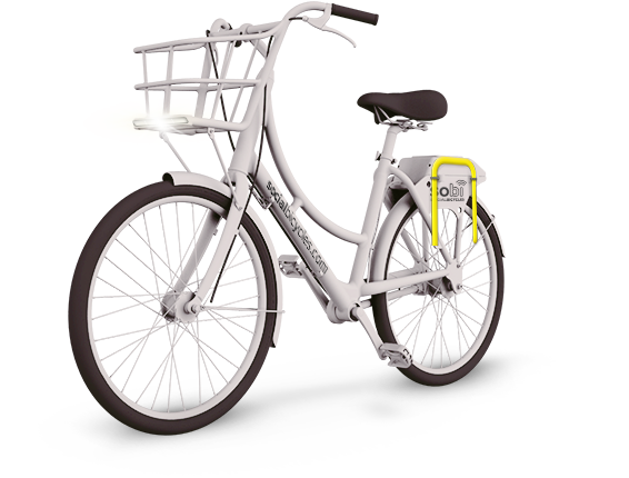 Social Bicycles bike (Image Credit: Social Bicycles)