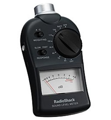 Sound pressure level meter (Image Credit: Cornwall Electronics)