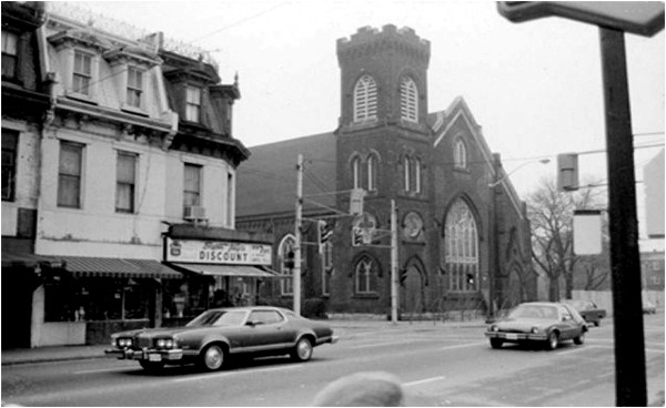 St. John in the 1970s after the fire.