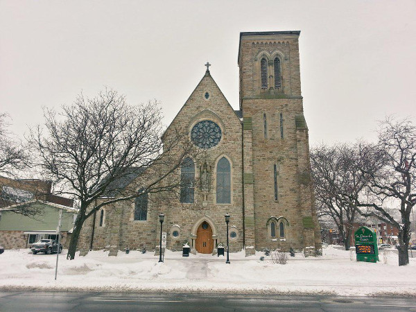 St. Patrick's Church, King and Victoria (RTH file photo)