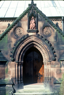 Fig. 8. Cheadle (Staffordshire), St Giles, south porch.