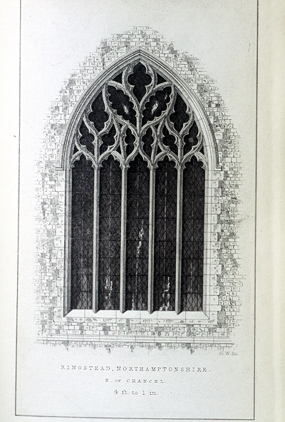 Fig. 16. Ringstead (Northamptonshire), from Sharpe's Decorated Windows.