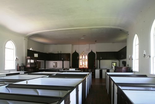 Fig. 6. St Thomas, ON, Old St Thomas's Anglican, interior from SW.