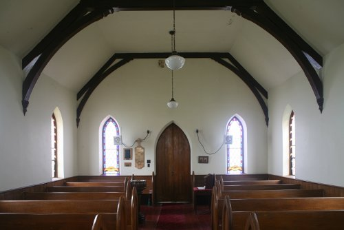 Fig. 9. Middleport, St Paul's Anglican Church, interior to W.