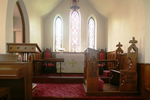 Fig. 12. Middleport, St Paul's Anglican Church, chancel.