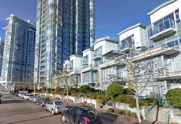 Marinaside Crescent, Vancouver (Image Credit: Google Street View)