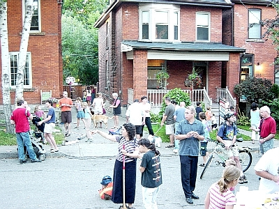 Kent Street Party, September