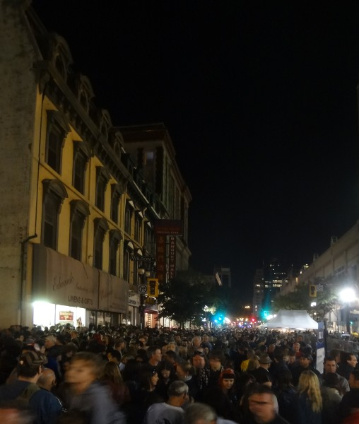 Crowds filled James Street North for Supercrawl 2012 (RTH file photo)