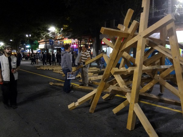 Ikea from hell: assembling a large wooden sculpture