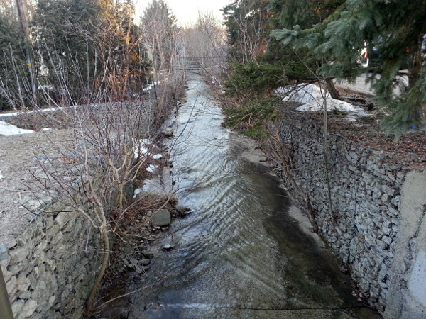 Sydenham Creek at Park Street East