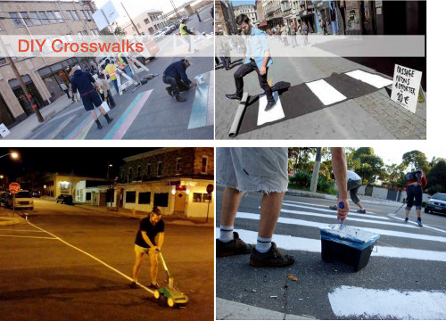 DIY Crosswalks