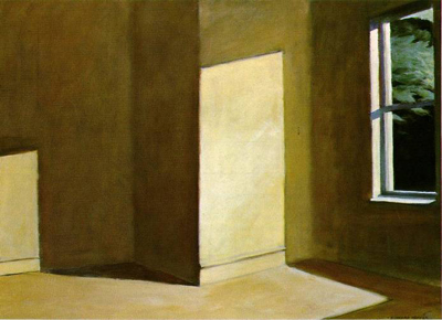Edward Hopper, Sun in an Empty Room (Photo Credit: WebMuseum, Paris)