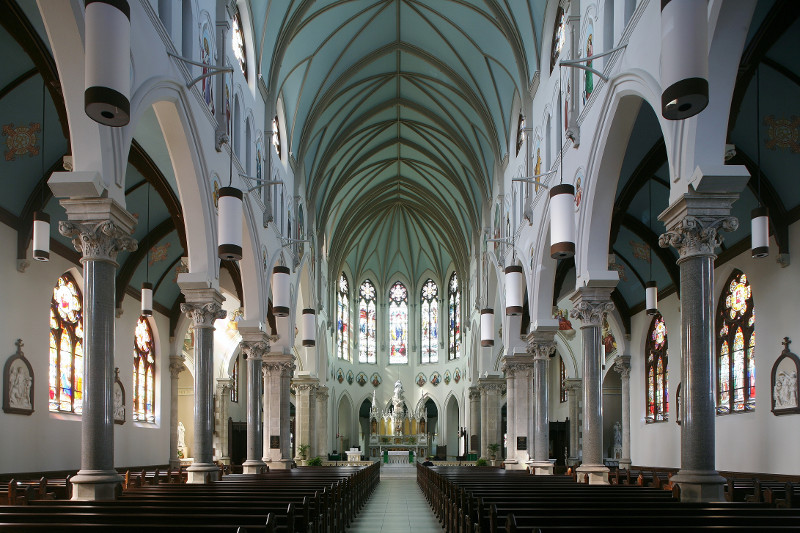 Fig. 4. Guelph, Basilica of Our Lady Immaculate, interior to E (W)