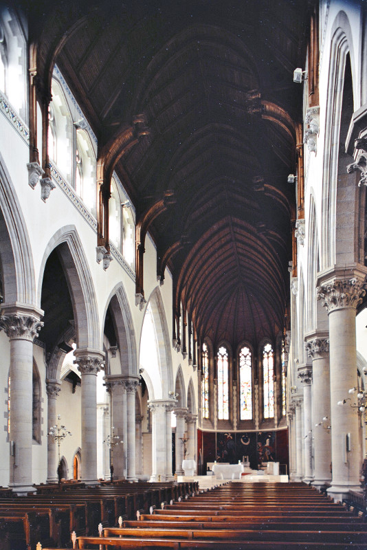 Fig. 5. Monaghan Cathedral, interior to E, J.J. McCarthy (1861).