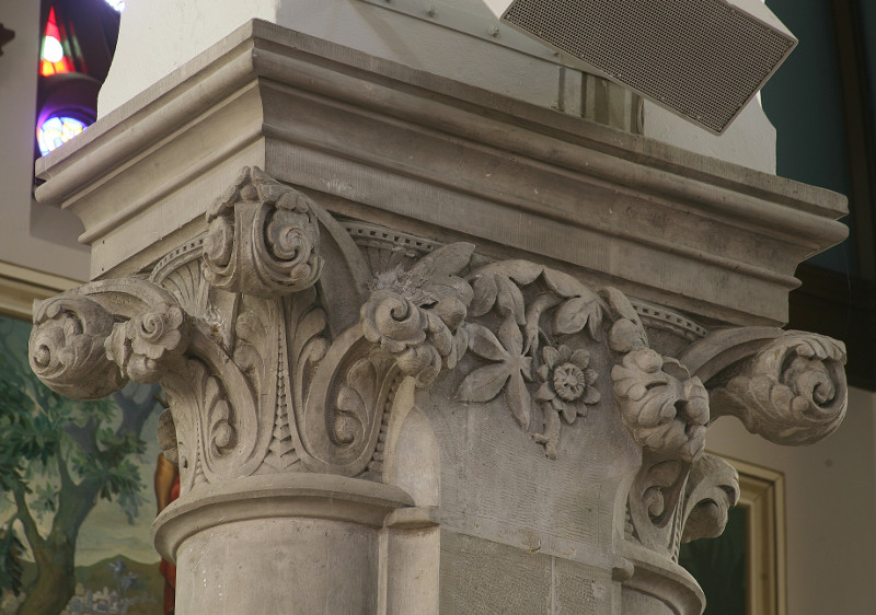Fig. 7. Guelph, Basilica of Our Lady Immaculate, capital.