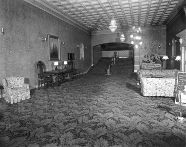 The Tivoli Lobby (Photo Credit: Ontario Government Archives)
